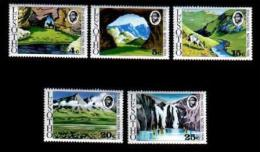 LESOTHO , 1975, Mint Never Hinged Stamp(s), National Parks , MI 178-182 #2630 - Lesotho (1966-...)