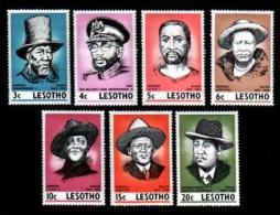LESOTHO , 1975, Mint Never Hinged Stamp(s), Politicians, MI 183-189 #2631 - Lesotho (1966-...)