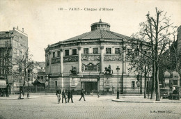 CPA - PARIS - Cirque D'Hiver   - Animée  - Circulée En 1907 - (1 Pli) - - Arrondissement: 11