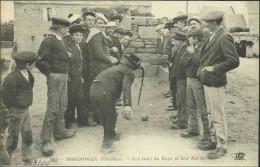 BRIGNOGAN - Les Gars Du Pays Et Leur Jeu Favori (joueurs De Boules) - Brignogan-Plage