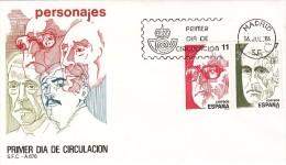 España Sobre Nº 591 - 1931-Hoy: 2ª República - ... Juan Carlos I