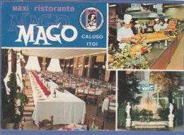 RISTORANTE MAGO - CALUSO (Torino) - F/G colore (270409)