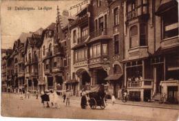 Duinbergen   5 CPA Rue Des Algues  Post   Hôtel Du Chalet  '12  Kapel & Vilas '11  Dijk  Orgelspeelster'12 - Belgium