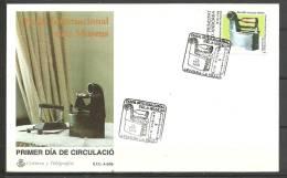 ANDORRA- CORREO ESPAÑOL ESTE SOBREO SIMILAR  DE PRIMER DIA . C. M. ABAD. Nº 242 - Cartas