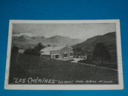 74) Les Cherires - Saxel - Boege   - Année 1936 - EDIT- - Autres Communes