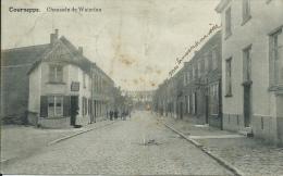 Dworp / Tourneppe - Chaussée De Waterloo - 1914 ( Verso Zien ) - Beersel