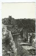 CPSM - Les Ruines De Chateau-Rocher Dominant Les Gorges - Non Classés