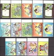 Walt Disney MiNr. 1918 - 1933 (Block 311) Grenada/Grenadinen  MNH / ** / POSTFRISCH - Disney