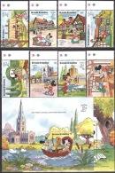 Walt Disney  MiNr. 1289 - 1298 (Block 193) Grenada/Grenadinen  MNH / ** / POSTFRISCH - Disney