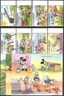 Walt Disney  MiNr. 1409 - 1419 (Block 214) Grenada/Grenadinen  MNH / ** / POSTFRISCH - Disney