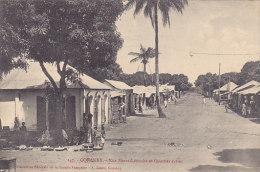 Conakry - Rue Sierra Léonaise  Et Quartier Syrien (animée) - Guinée Française