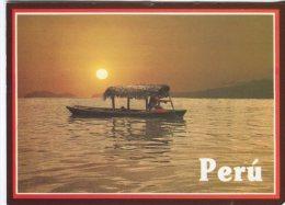 E Eismann Postcard, Peru, Rio Amazonas, Crepusculo, Sunset, Crepuscule, Iquitos, 224 - Peru