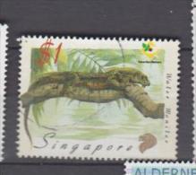 Singapoure YV 922 O 1999 Varan - Reptiles & Batraciens