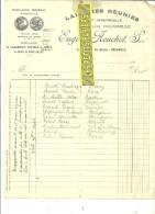 70 - Haute-saône - VESOUL - Facture REUCHET - Laiteries Réunies – 1933 - REF 107 - Non Classés