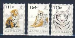 ANTILLES 2010 NVPH 1987-89 TIJGERS TIGER MNH ** VERY FINE - Niederländische Antillen, Curaçao, Aruba