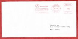 Brief, Francotyp-Postalia B81-0389, Mercedes-Benz Ostendorf, 100 Pfg, Ahlen 1994 (60488) - Covers & Documents
