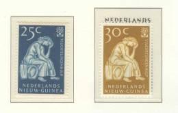 NETHERLANDS NIEUW GUINEA 1960 NVPH 61-62 MNH ** POSTFRIS NEUF - Nederlands Nieuw-Guinea