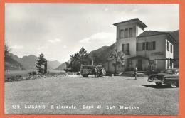 Oct113, Lugano, Ristorante Capo Di San Martino, Bus VW, Animée,  Circulée 1956 - TI Tessin