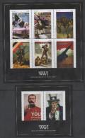 NEVIS ,2014, MNH, WWI, POSTERS,   SHEETLET+S/SHEET - WW1