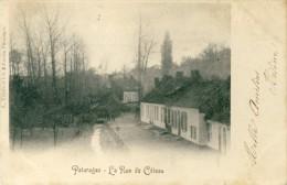 Pâturages - La Rue Du Côteau - 1901 ( Voir Verso ) - Colfontaine