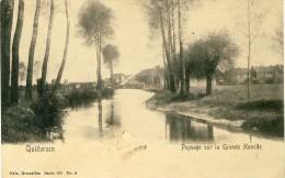 Quiévrain - Paysage Sur La Grande Honelle ( Voir Verso ) - Quiévrain