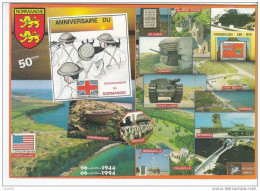 50ème  Anniversaire Du Débarquement - Les Grands Lieux Du Débarquement - N°  D  860    . - Guerre 1939-45