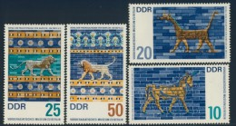 BL1-314 DDR, EAST GERMANY 1966 MI 1229-1232 EARLY ASIAN ART, KUNST. MNH, POSTFRIS, NEUF**. - Künste