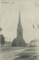 Pommeroeul - L'Eglise - 1907 ( Voir Verso ) - Bernissart