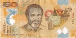BILLETE DE PAPUA Y NUEVA GUINEA DE 50 KINA DEL AÑO 2010 - Papua Nueva Guinea