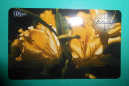 ORBISLINE - Flowers Fleurs Flora Flore - Orchid ? ( Switzerland Prepaid Card ) GSM Remote Prepayee Carte Suisse - Switzerland