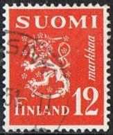 Finland SG438 1950 Definitive 12m Good/fine Used - Finland