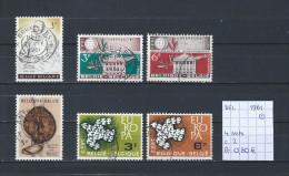 België 1961 4 Sets Gest./obl./used - Belgium