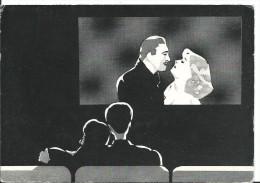 A 53 Jean Luc Bertrand , Sans Titre...( Salle De Cinéma - Couple ) CPM Non Voyagée -édition Danhilo - Bords Usagéss - Illustratori & Fotografie