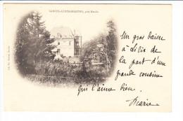 Carte De SAINTE AUSTREBERTH  Près Hesdin ( Château De Langrume Face Arrière Je Pense ) ( Réf. Perso. 133 ) - France
