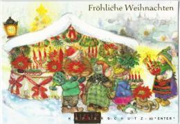 11,5x17 * LISI MARTIN * Folded * LARGE + Envelope - Noël