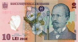 ROMANIA 10 LEI 2011 P119 POLYMER UNCIRCULATED - Roemenië