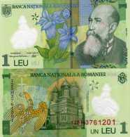 Romania 1 Leu (2012) - Polymer/Monestary - Rumania