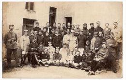 Lot 13 CPA Photo Dyrotz Camp Prisonniers Mewes Paretz Ketzin 1916 Vehlefanz Cachet Berlin Allemagne Deutschland - Oorlog 1914-18