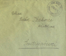 YUGOSLAVIA - CROATIA - VINKovacko  NOVO  SELO  To Andrijaševci - 1946 - Covers & Documents
