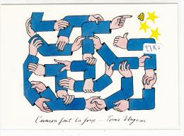 """CPM GF - Thème Illustrateur TOMI UNGERER  - """"L´Union Fait La Force"""" - Ungerer"""
