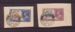 CHINA CHINE 1935.MY 6 HONG KONG STAMP FIRFT DAYPOST MARK 10c,20c - Hong Kong (1997-...)