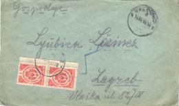 YUGOSLAVIA  - CROATIA - PORTO  Letter - VALPOVO To ZAGREB  - 1945 - 1945-1992 République Fédérative Populaire De Yougoslavie