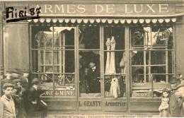 87-Limoges-Troubles De Limoges-L'armurerie Geanty Après Le Pillage 15 Avril 1905 - Limoges