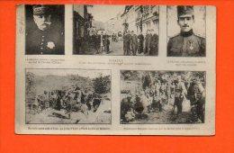 Macédoine - MONASTIR - Prisonniers Bulgares - Batterie Serbe - Général Sarrail Prince Alexandre De Serbie Militaires) - Macédoine