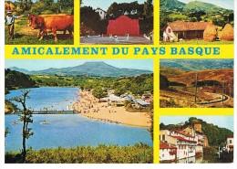 Amicalement Du PAYS BASQUE - Yvon 10-4740 - Circulé  - Tbe - Non Classificati
