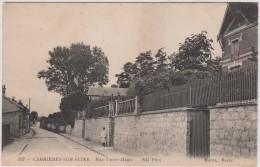 Yvelines :  CARRIERES  Sur   SEINE  :  Rue  Victor  Hugo - Carrières-sur-Seine