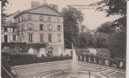 Yvelines :  CARRIERES  Sur   SEINE  : La  Mairie - Carrières-sur-Seine