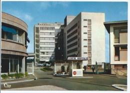 CP MONTBELIARD, L'ENTREE DU CENTRE HOSPITALIER, HOPITAL, DOUBS 25 - Montbéliard