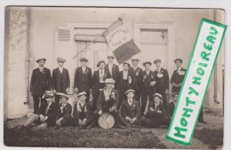 Sarthe : LA  FERTE   BERNARD  :  Classe   1917 - La Ferte Bernard