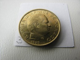 Monaco : Rainier III :  5 Centimes 1979 : Petit Tirage (50 000 Ex) -  Rare - - Monaco